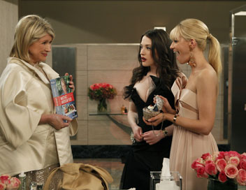 2 Broke Girls - Et Martha Stewart vont au bal