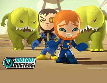 Mutant Busters - Les Mutants Brothers
