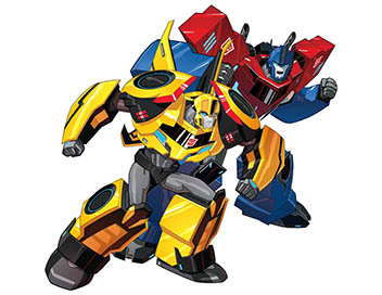 Transformers : Robots in Disguise : Mission secrète - Strongarm marque des points