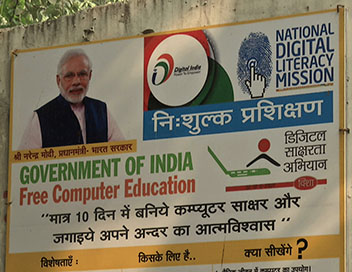 Modi, le leader digital