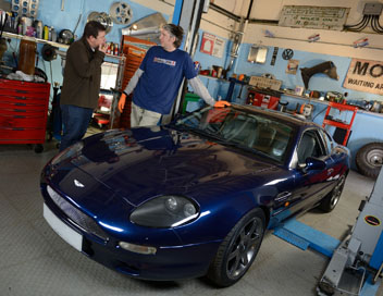 Wheeler Dealers : occasions à saisir - Aston Martin DB7