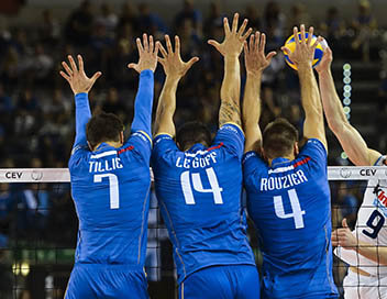 Volley-ball (Islande / France)